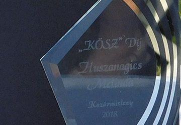"""Civilek a Városért """"KÖSZ"""" díj átadó ünnepség"""